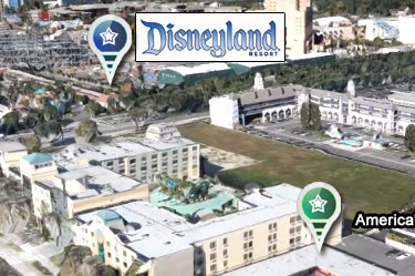 Family Suites Hotel walking distance to Disneyland