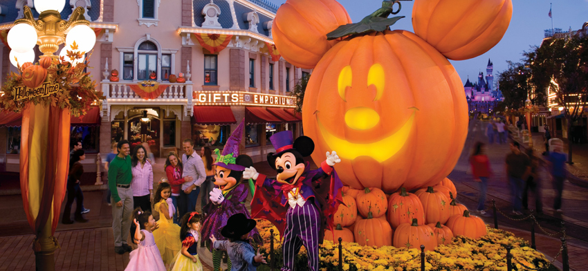 Disneyland Halloween Fun for the Family in Southern California
